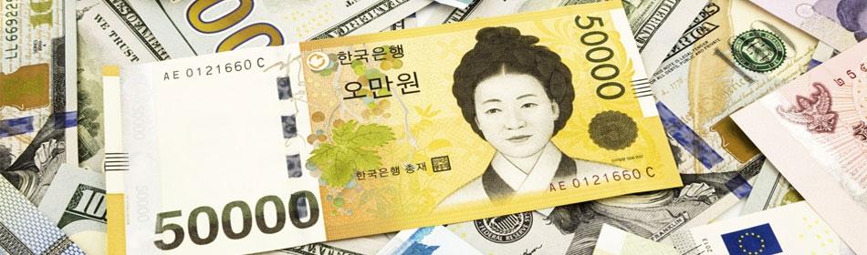 Forex korean won usd