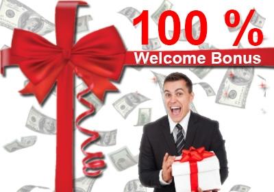 100 welcome bonus forex broker